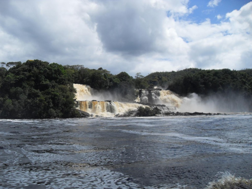 Lagune in Canaima