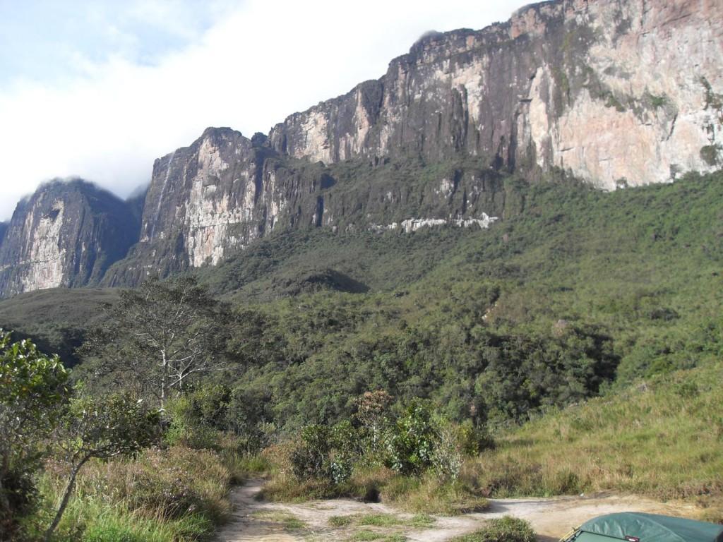 Aufstiegsrampe des Roraima
