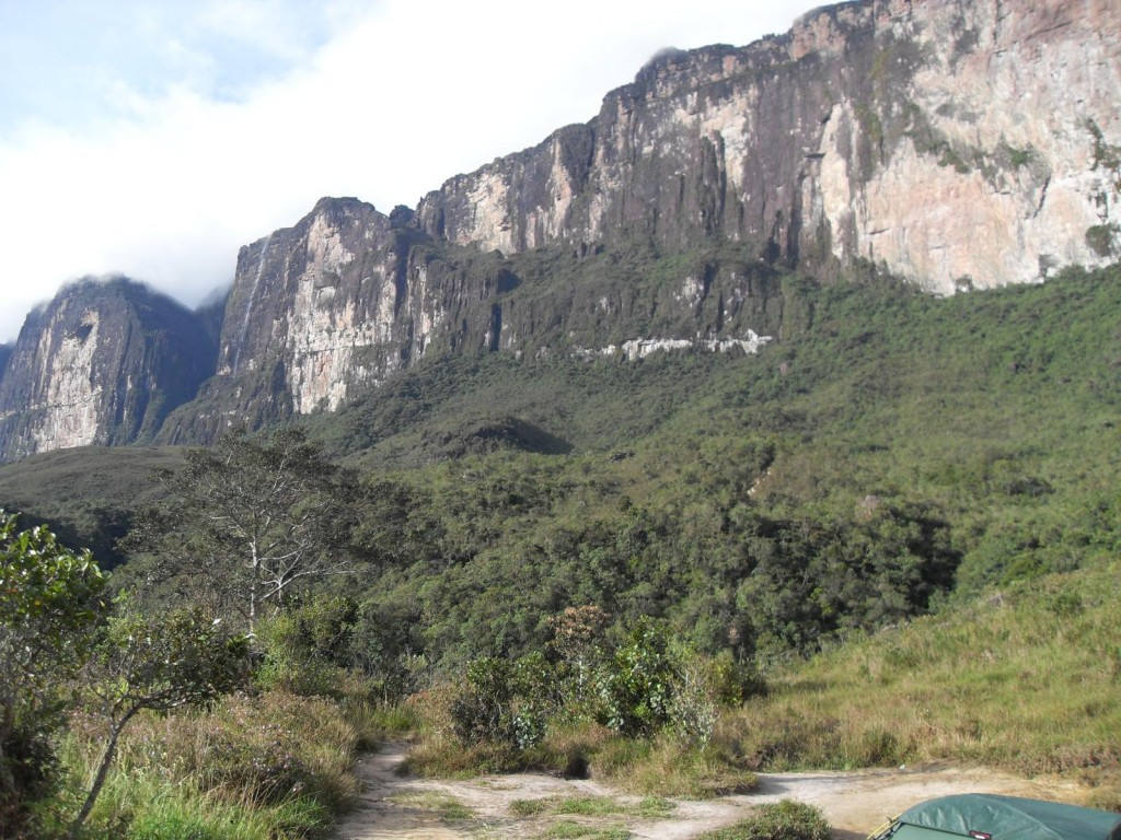 Roraima Trekking - The ramp of Roraima