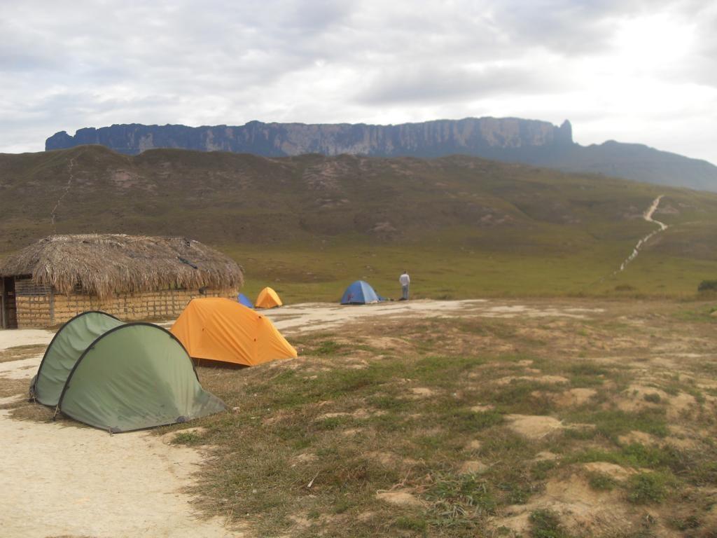 Roraima desde el Campamento Tek